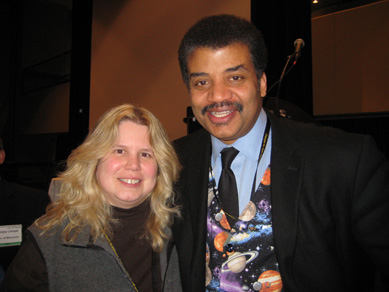 Noreen and Dr. Neil deGrasse Tyson