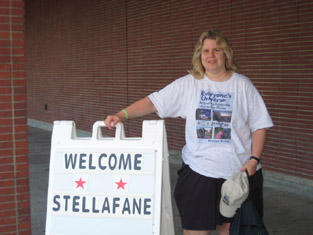 Noreen at Stellafane Conference