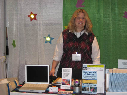 Noreen at Teachers Conference