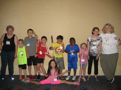 Children at NFB Convention