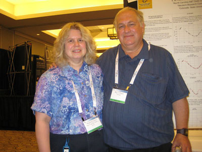 Noreen Grice with Ray Villard