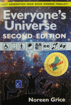 Everyones Universe book with Winning Sticker