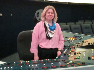 Noreen Grice with Console