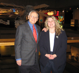 Noreen Grice and Alan Bean