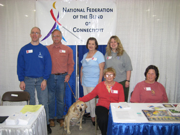 Members of the National Federation of the Blind of CT
