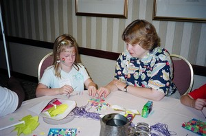 Making_Star_Necklace_at_Braille_Carnival
