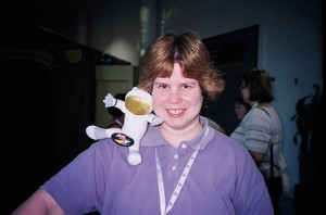 Noreen_with_tactile_astronaut_doll
