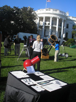 Display on the White House Lawn